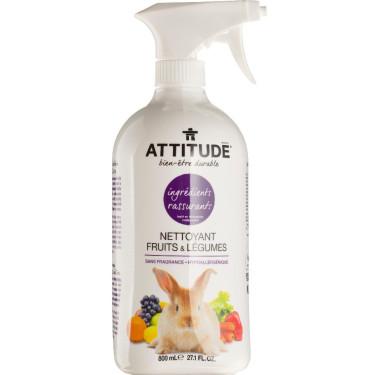 Средтво для мытья овощей и фруктов 800мл, Attitude - 41165
