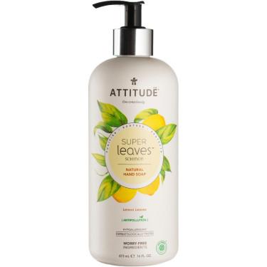 Жидкое мыло для рук Super Leaves лимон 473мл, Attitude - 41177