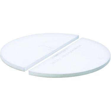 Набор из двух полукруглых керамических тарелок Big Joe, Kamado Joe