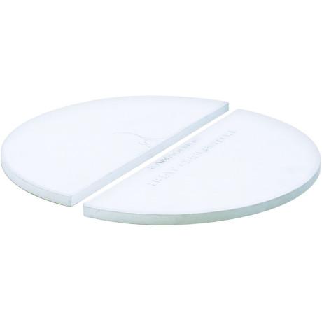 Набор из двух полукруглых керамических тарелок Big Joe, Kamado Joe - 20160