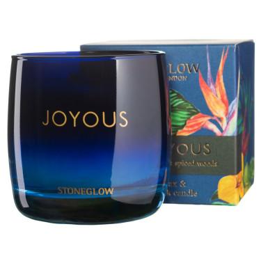 Свеча ароматическая Verbena & Spiced Woods Joyous, Stoneglow - 41793