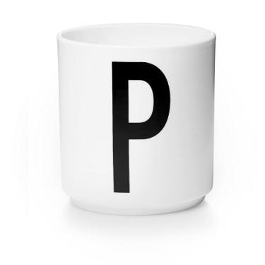Персональна фарфорова чашка P, Design Letters - 42516