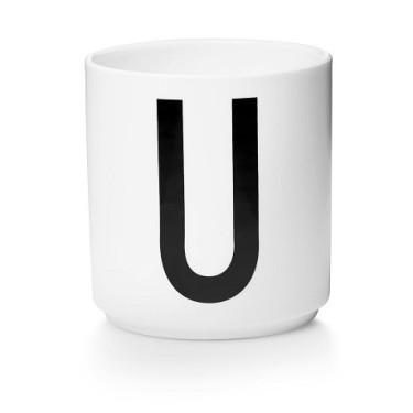 Персональна фарфорова чашка U, Design Letters