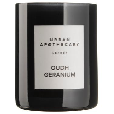 Свеча ароматическая Oudh Geranium, Urban Apothecary