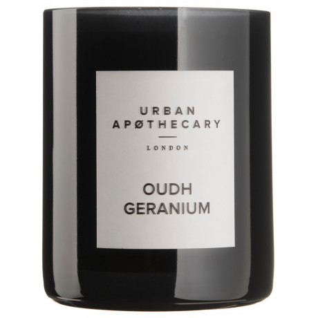 Свеча ароматическая Oudh Geranium, Urban Apothecary - 85353