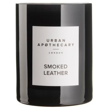 Свеча ароматическая Smoked Leather, Urban Apothecary