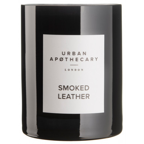Свеча ароматическая Smoked Leather, Urban Apothecary - 85349