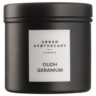 Свеча ароматическая (тумблер) Oudh Geranium, Urban Apothecary