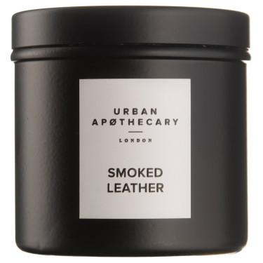 Свеча ароматическая (тумблер) Smoked Leather, Urban Apothecary