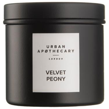 Свеча ароматическая (тумблер) Velvet Peony, Urban Apothecary