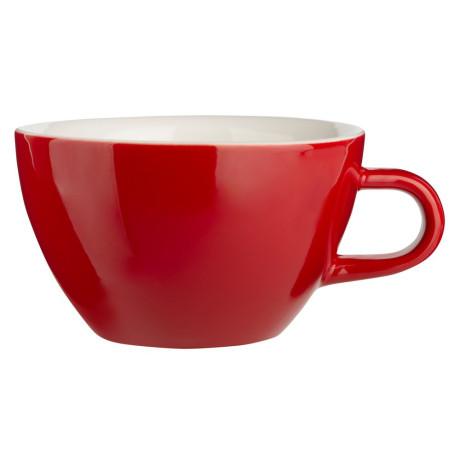 Чашка для капучино 190мл красный, Acme - 43422
