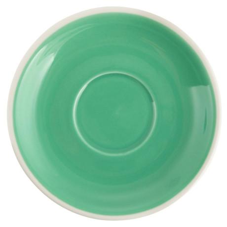Блюдце 14см зеленый, Acme - 43433