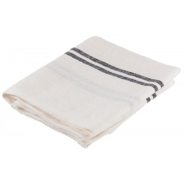 Полотенце кухонное льняное белое 52х75см Country, Charvet Editions