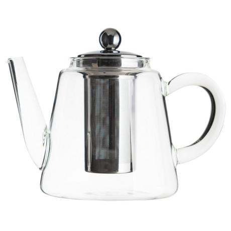 Заварник для чая стеклянный Jasmin 1,2л, Cristel - 44720