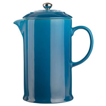 Френч-пресс для кофе голубой 800мл, Le Creuset - 44972