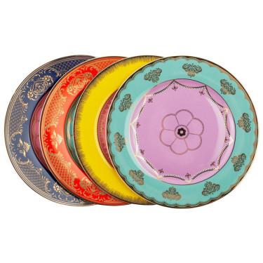 Набор тарелок Как у дедушки (4шт в уп), Pols potten