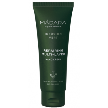 Восстанавливающий крем для рук Infusion Vert 75мл, Madara Cosmetics - 86365