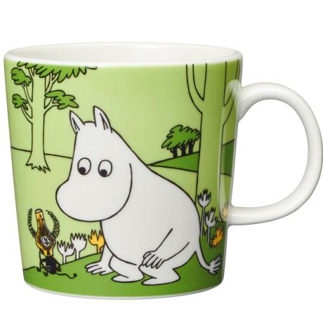 Чашка Муми-Тролль зеленая 300мл Moomin, Arabia - 44922