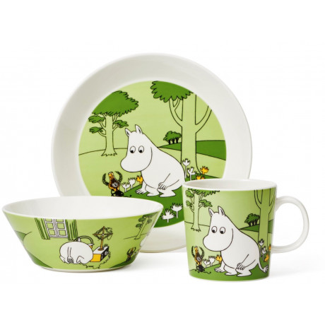 Пиала Муми-Троль зеленая 15см Moomin, Arabia - 44924