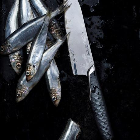 Нож шеф повара 20см Titanium, Fiskars - 45541