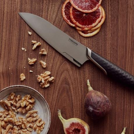 Нож шеф повара 16см Titanium, Fiskars - 45543