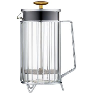 Френч-пресс Corral на 8 чашек стальной, Barista & Co