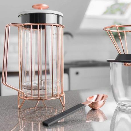 Мерная ложка для кофе стального цвета, Barista & Co - 45582