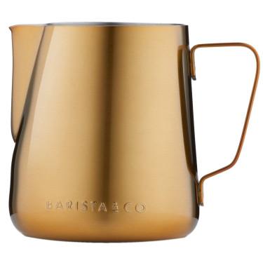 Молочник Core Milk Jug золотистого цвета 600мл, Barista & Co