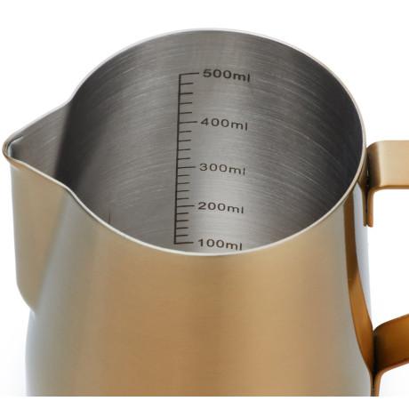 Молочник Core Milk Jug золотистого цвета 600мл, Barista & Co - 45584
