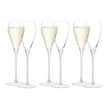 Подарочный набор з 6 бокалов 250мл для игристого вина, LSA international - 45103