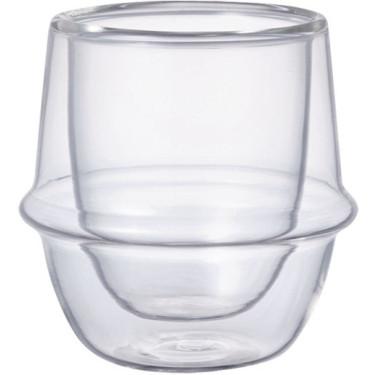 Чашка с двойным стеклом 80мл Kronos, Kinto - 13023