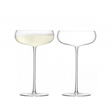 Набор бокалов для шампанского 320мл (2шт в уп) Wine Culture, LSA International - 44248