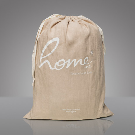 Комплект постельного белья Миндаль с молоком, Home Me - 86485