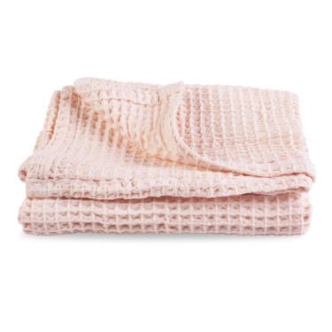 Полотенце розовое 50х70см, Home Me