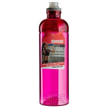 Бутылка для воды Feel с питьевым клапаном розовая 600мл,Sigg