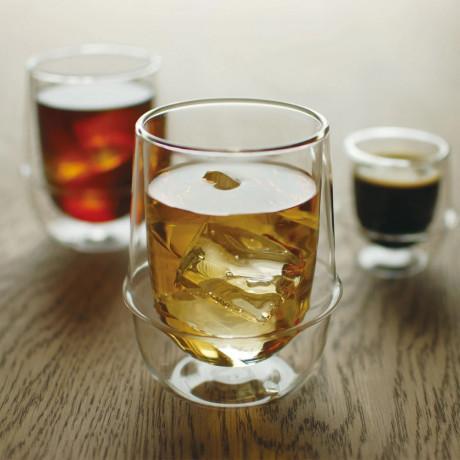 Чашка с двойным стеклом 350мл Kronos, Kinto - 13024