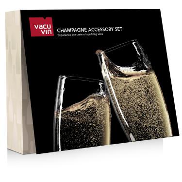 Подарочный набор Champagne Accessory Set , Vacu Vin