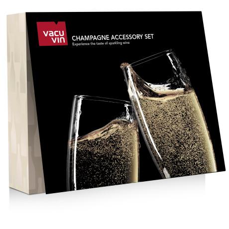 Подарочный набор Champagne Accessory Set , Vacu Vin - 47416