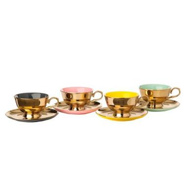 Набор чашек с блюдцами Legacy (4шт в уп), Pols potten