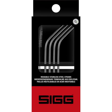 Соломинка из нержавеющей стали (4шт в уп), Sigg - 48747