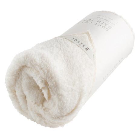 Полотенце для лица хлопковое кремовое 34х85см, Harada Textile - 48726