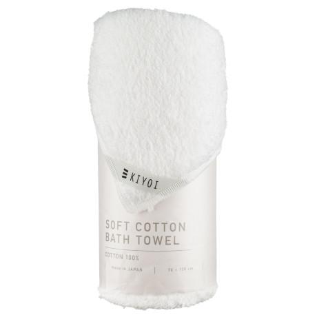 Полотенце банное хлопковое белое 70х130см, Harada Textile - 48727
