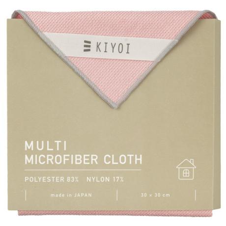 Салфетка для уборки из микрофибры розовая 30х30см, Harada Textile - 48731