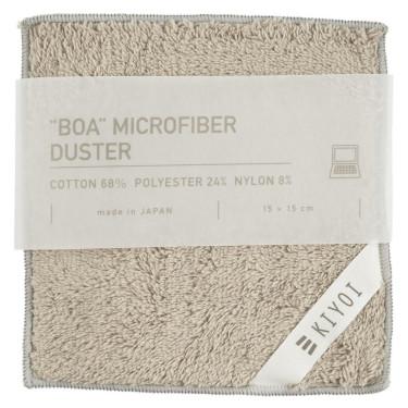 Салфетка для электроприборов из микрофибры серая 15х15см, Harada Textile
