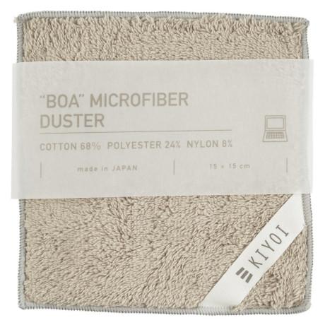Салфетка для электроприборов из микрофибры серая 15х15см, Harada Textile - 48733