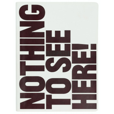 Блокнот Nothing To See Here с термоэффектом, Nuuna - 49460