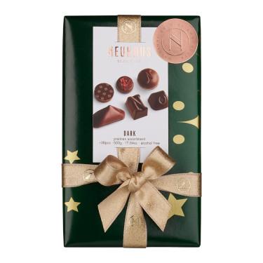 Шоколадные конфеты с темного шоколада Рождество 500г, Neuhaus - 89151