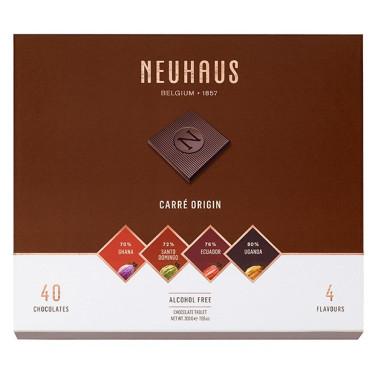 Набор шоколада Карре оригинальный (темный шоколад) 200г, Neuhaus