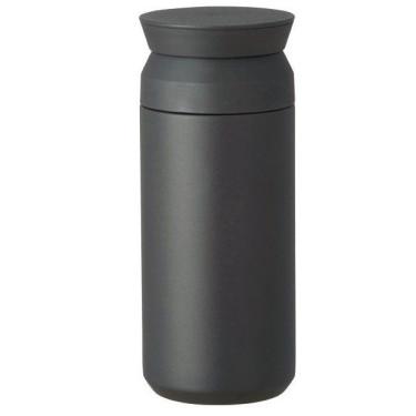 Термокружка черная 500мл, Kinto
