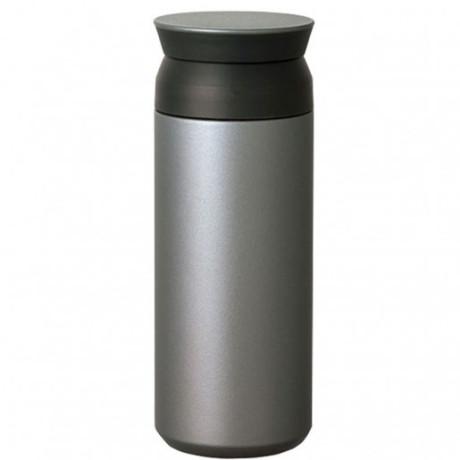 Термокружкасеребристая500мл,Kinto - 50080